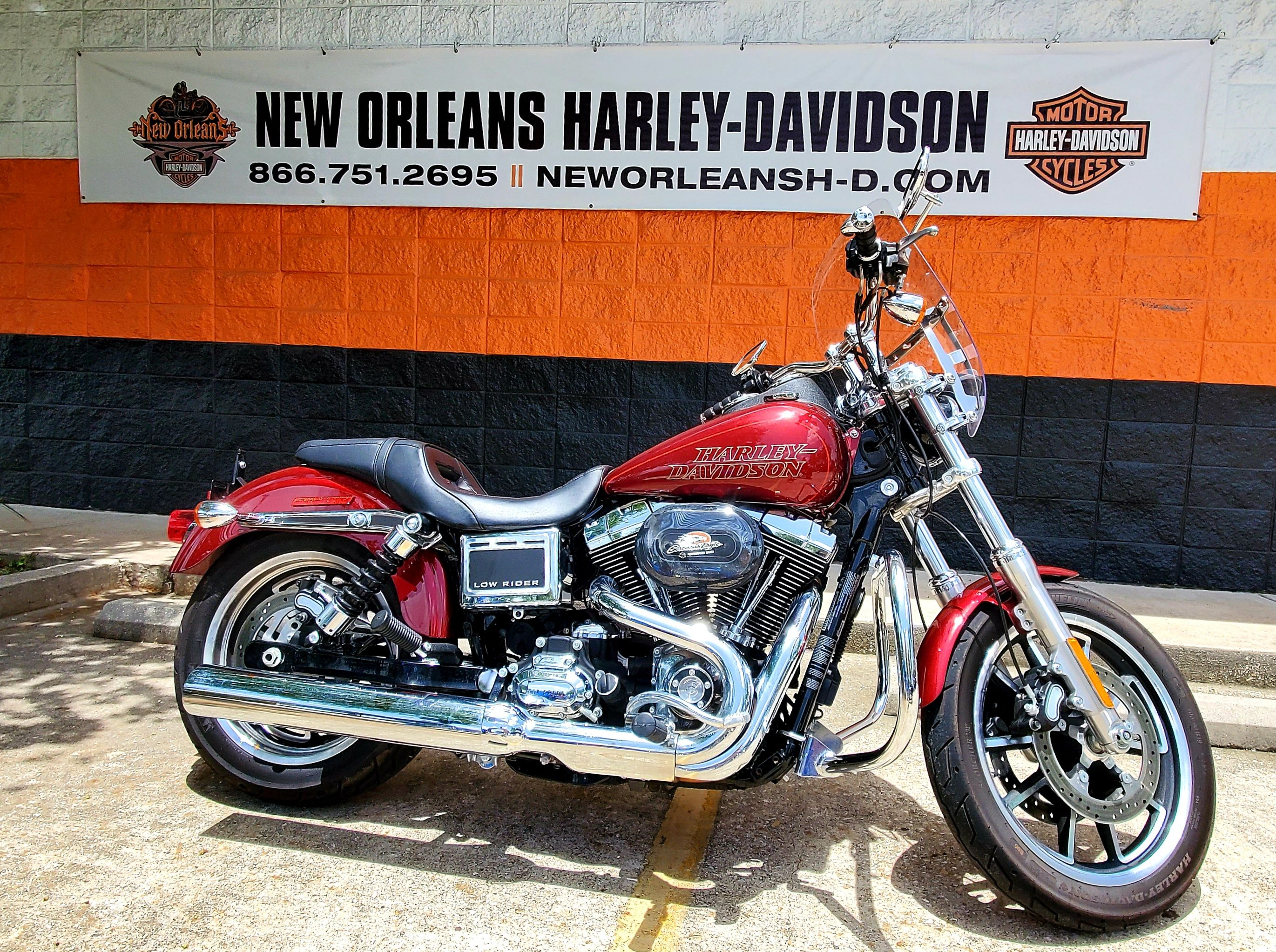 Pre-Owned 2017 Harley-Davidson Low Rider FXDL